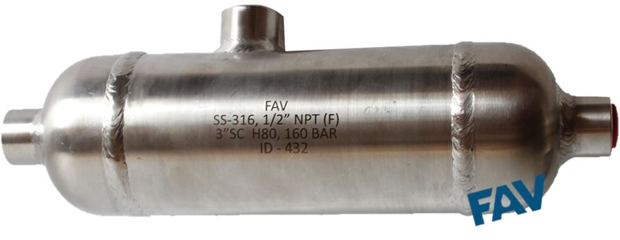 Condensate pots seal manufacturer in stainless steel