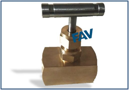 Brass Bar Stock Needle Valve
