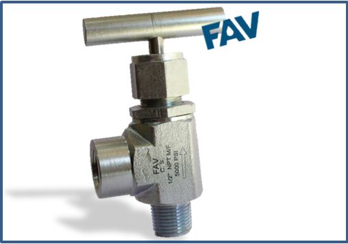 Forged Body Stainless Steel A105 Angle Needle Valve 5000 psi