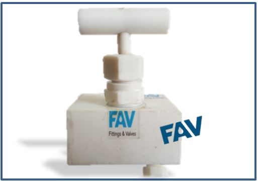 Teflon Needle Valve with Vent Plug