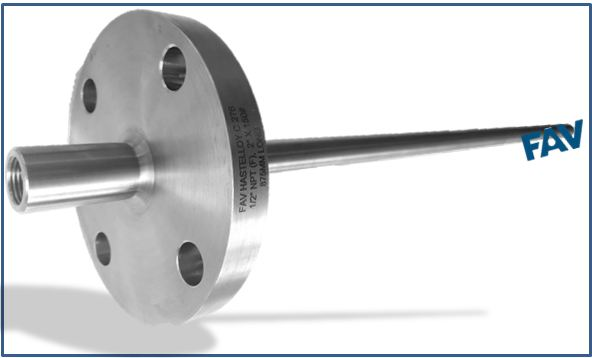 Flanged Tapered Thermowell