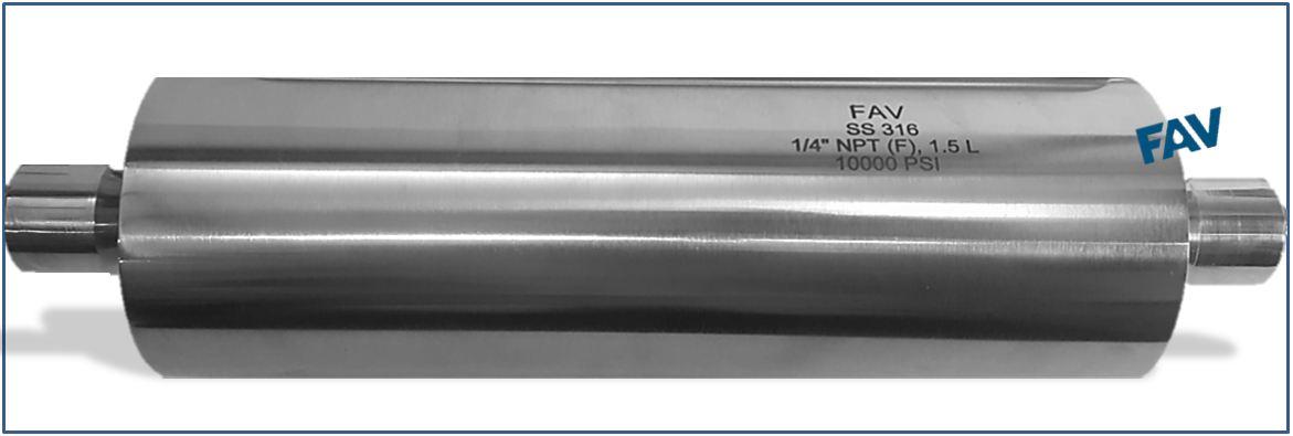 High Pressure Sampling Cylinder