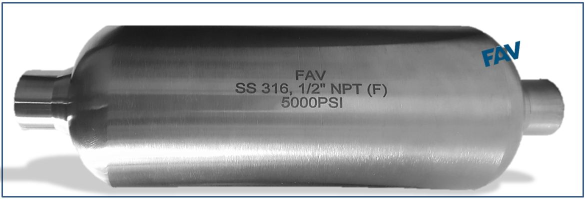 Stainless Steel Sampling Cylinder