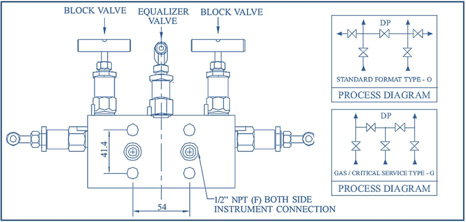 Five Way Manifold Valve