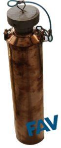 Copper Cans for Sampling