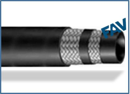RUBBER HYDRAULIC HOSE, R2AT-R2AT
