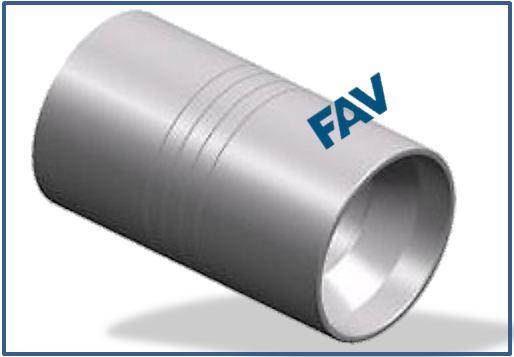 HOSE FERRULE-HOSE CAP FOR CRIMPING - SAE 100 R12-06-16, GB 10544 3TYPE-20-32, DIN 20023-4SP, 4SH-10-16 HOSE FERRULE