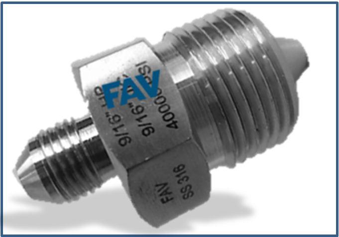 High Pressure HP Male to Medium Pressure MP Male