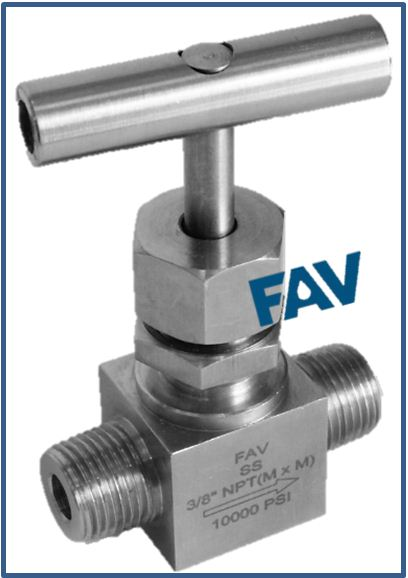 High Pressure Needle Valves 10000 psi male X male