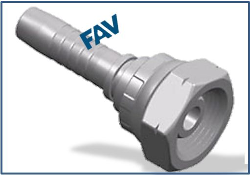 Hose Fitting (BSP Female Multiseal) - BSP FEMALE MULTISEAL