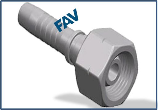 Hose-Fitting-BSP-Thread-60°-Cone-Fitting-BSP-FEMALE-60°CONE
