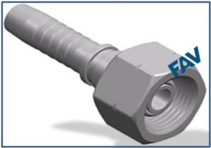 Hose-Fitting-BSP-Thread-60°-Cone-Fitting-BSP-FEMALE-60°O-RING-CONE