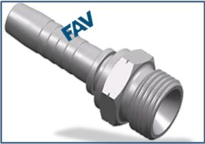 Hose-Fitting-BSP-Thread-60°-Cone-Fitting-BSP-MALE-60°CONE-SEAT