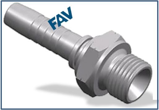 Hose-Fitting-BSP-Thread-60°-Cone-Fitting-BSP-MALE-DOUBLE-USE-FOR-60°CONE-SEAT-OR-BONDED-SEAL