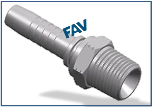 Hose Fitting (NPT Thread Fittings) - NPT MALE