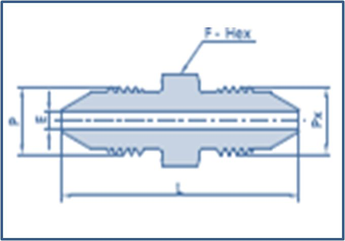 Medium Pressure MP Male to Medium Pressure MP Male Adapter 15000 psi