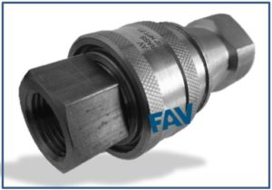 Quick Release Couplings Double Check Type 1000 psi