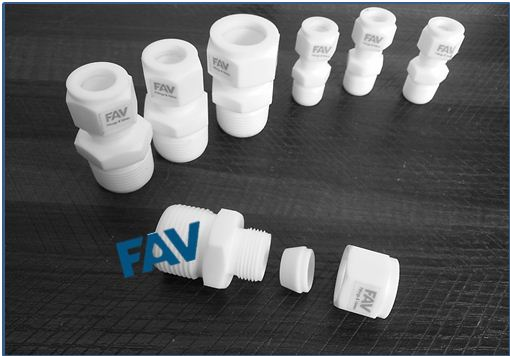 PTFE Male connector