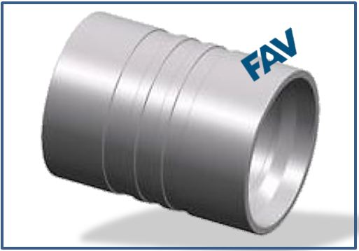 HOSE FERRULE-HOSE CAP FOR CRIMPING - INTERLOCK FERRULE FOR SAE 100R13-R15,4SH-12-16 HOSE