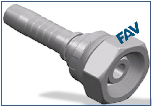 Hose Fitting (Metric Female Multiseal) - METRIC FEMALE MULTISEAL