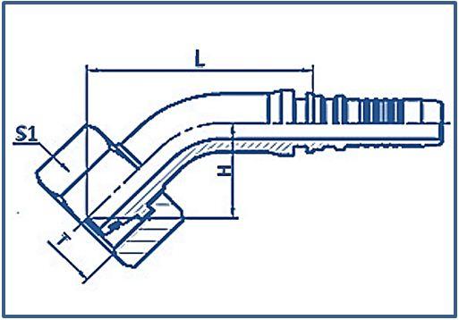 Interlock-Fitting-Metric-Thread-24°-Cone-Heavy-Series-METRIC-FEMALE-24°CONE-O-RING-H.T