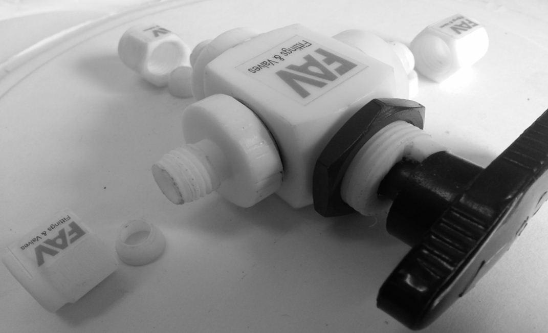 Teflon valve