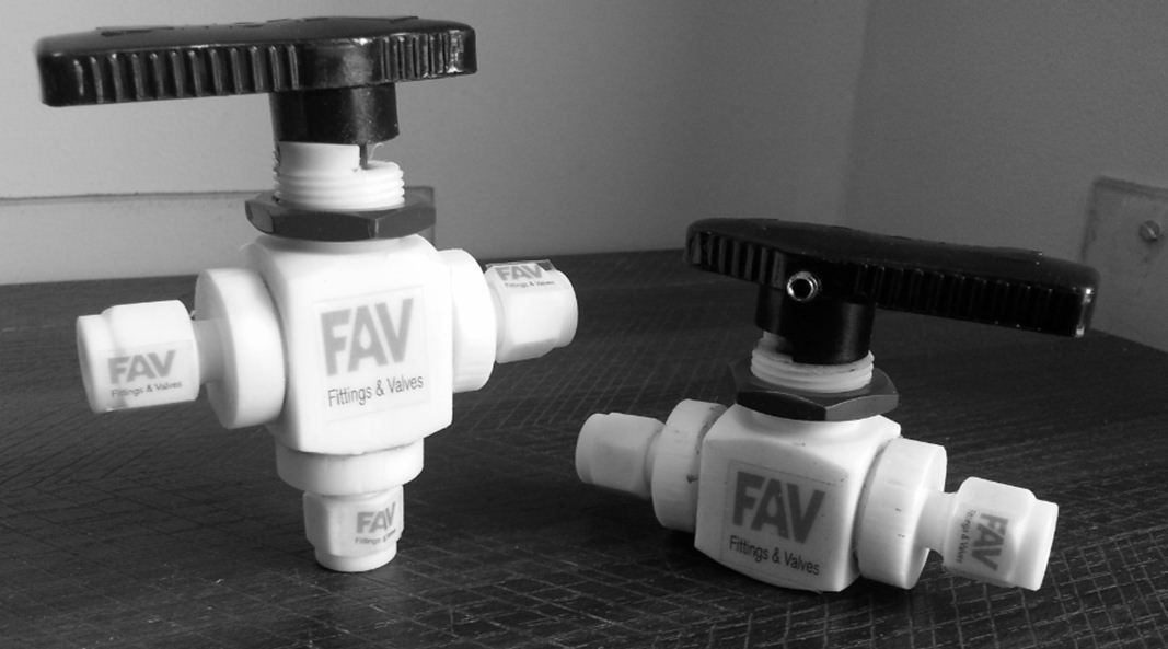 Ptfe Ball Valve 2 Way Compression Tube Amp Ptfe