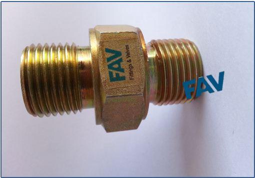 Galvanized Steel Hex Nipple High pressure