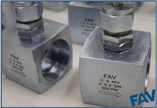 SS Needle Valve Socket Weld Connection