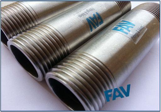 Stainless Steel Barrel Nipples