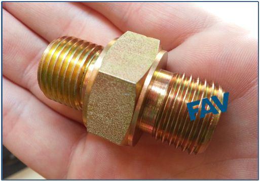 Steel A105 Hex Nipple BSP Male