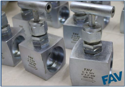 Steel Needle Valve Socket Weld Connection BarStock Body