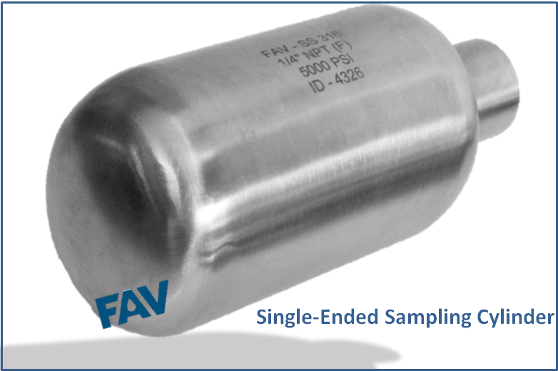 Single Ended Sampling Cylinders
