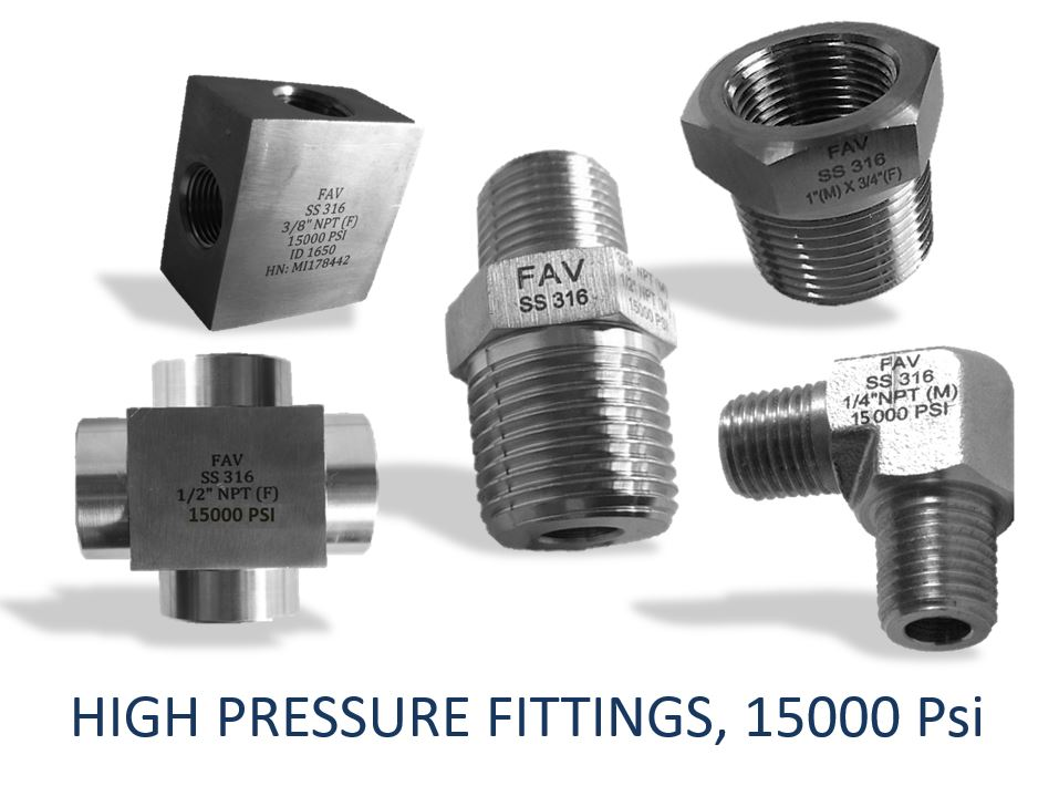 High Pressure Pipe Fittings available in SS, CS A105, Monel