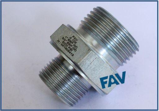Carbon Steel A105 Hex Nipple 10000 psi