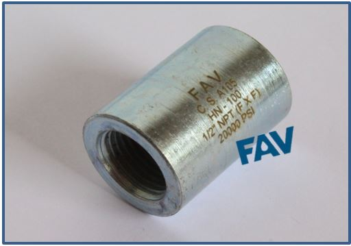 Carbon Steel Coupling Female