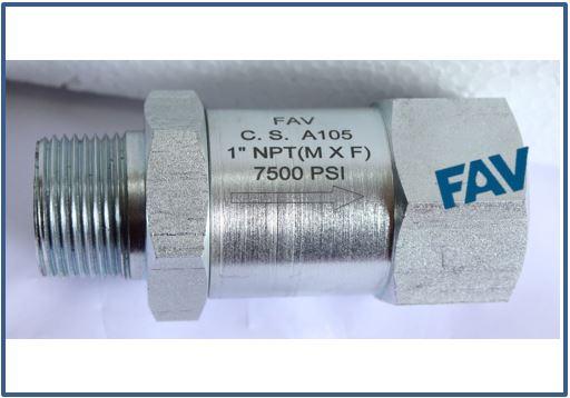 CS Check valve MxF