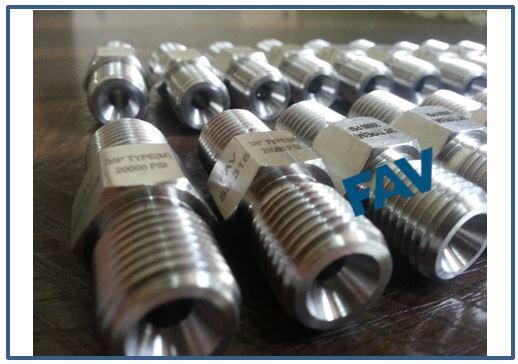 High Pressure Adaptor And Couplings