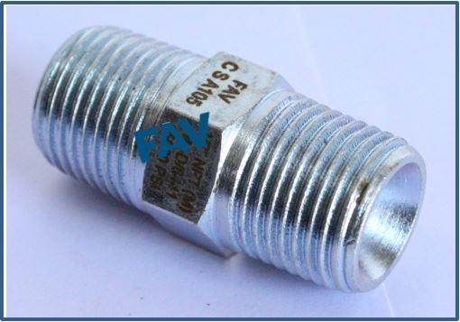 Steel A105 Nipple with 60 deg cone