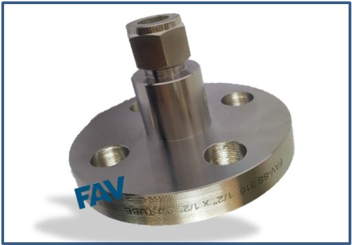 Flange to Compression Tube Adaptors