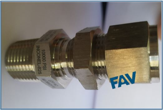 Inconel Fitting