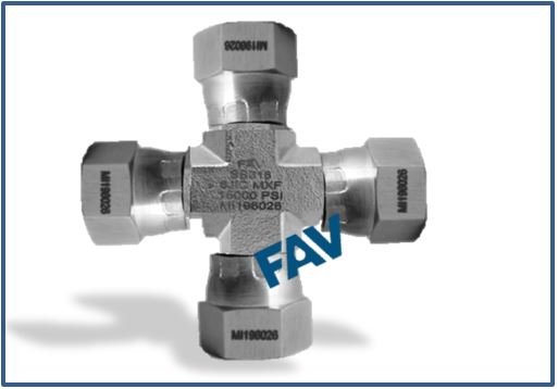 JIC Swivel Cross