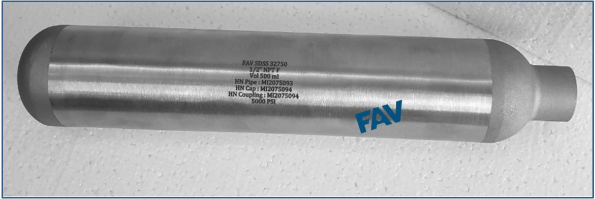 Duplex 2205 Cylinders