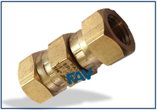 Brass Adaptor JIC female swivel
