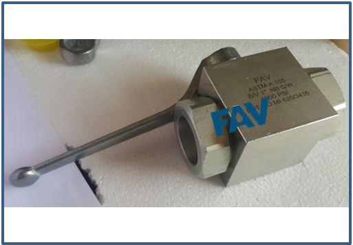 Steel Ball Valve BSP Female 10000 psi