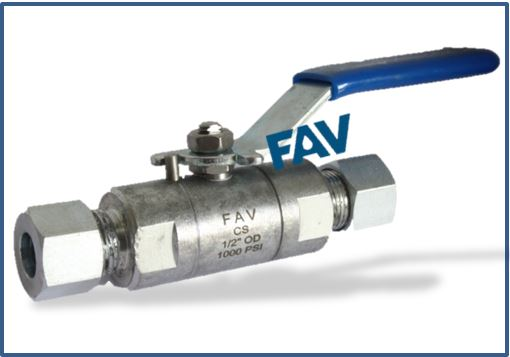 Steel A105 Ball Valve OD 1000 psi