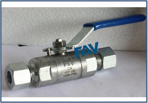 Carbon Steel A105 Ball Valve 1000 psi