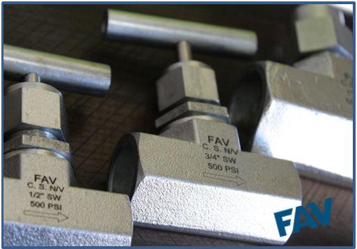Steel Needle Valve Socket Weld