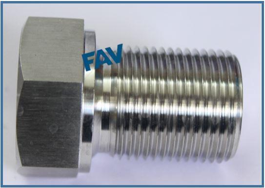 Shoulder Plug for Heat Exchanger